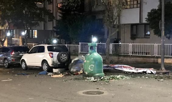 İstanbul Ataşehir'de çöp konteynırında patlama