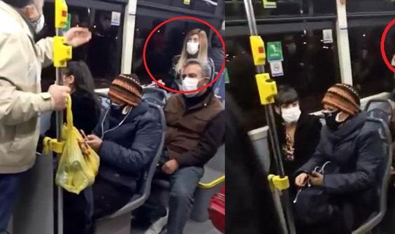 Koronavirüse yakalandığını söyledi, otobüs karıştı