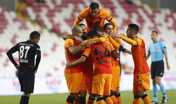 Galatasaray, Sivas'tan 3 puanla döndü