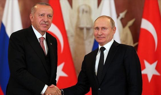 Erdoğan ile Putin arasında Dağlık Karabağ görüşmesi