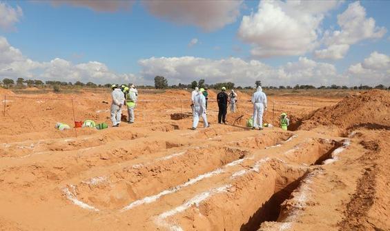Libya'da yeni bir toplu mezar bulundu