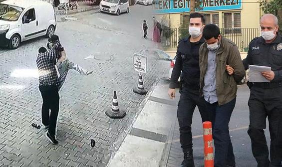 İş yerinden su içen çocuğu dövüp, yere çarptı
