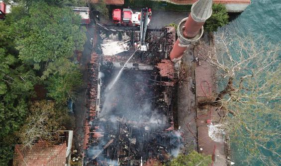 Vaniköy Camii yangınında itfaiye raporu ortaya çıktı