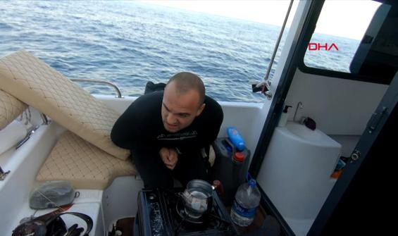 Aslan balığının zehirlediği Youtuber'ın acı dolu anları