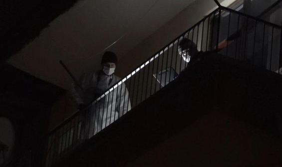 92 yaşındaki kişi 4. kattan düşerek hayatını kaybetti
