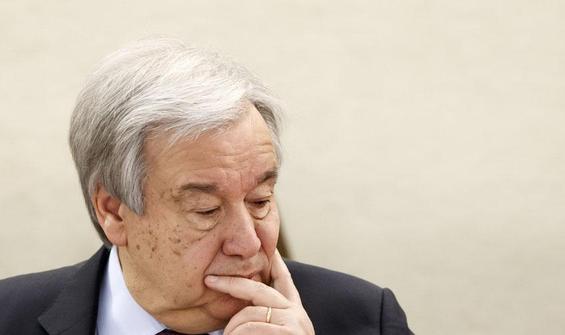 Guterres: Yemen, kıtlık tehlikesi ile karşı karşıya