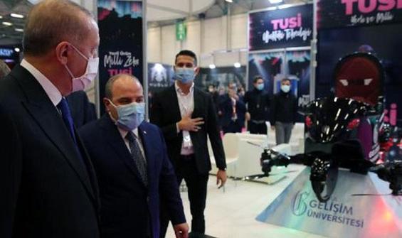 Erdoğan, uçan araba TUSİ'yi inceledi
