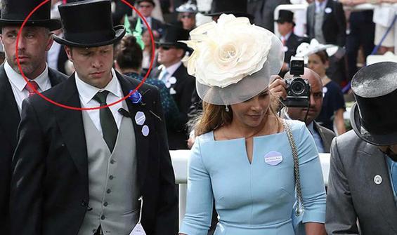 Prenses'ten yasak aşkına 1.2 milyon sterlinlik sus payı