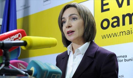 Moldova'nın yeni Cumhurbaşkanı Maia Sandu oldu