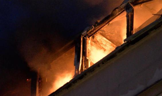 Perpa İş Merkezi'nde yangın