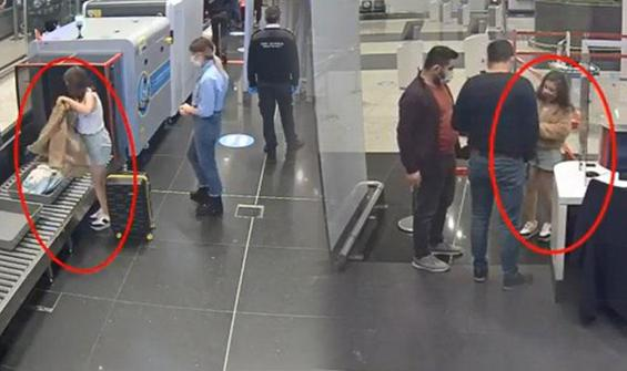 İstanbul Havalimanı'nda böyle yakalandı