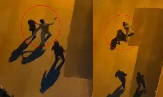 Sokak ortasında iki kadına saldırı!