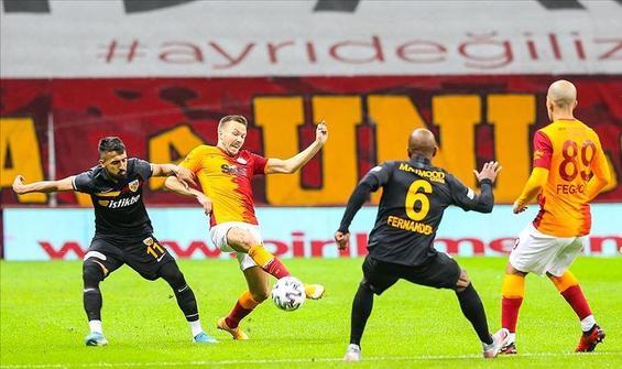 Kayserispor'dan Galatasaray'a çelme