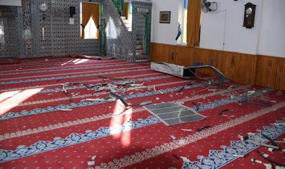 Heyelan nedeniyle ibadete kapatılan cami 5 kez soyuldu
