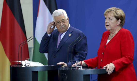 Merkel'den Abbas'a 'İsrail' teklifi