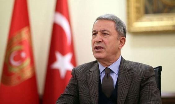 Bakan Akar'dan Türk gemisine hukuksuz arama tepkisi