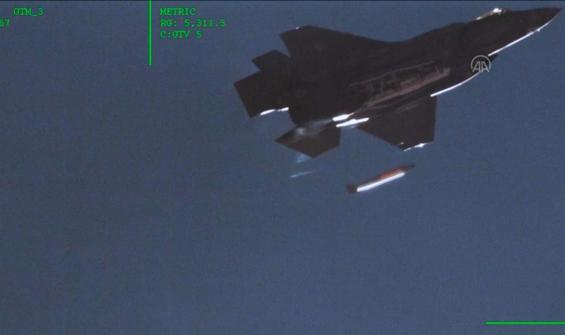 F-35 uçağında nükleer bomba testi