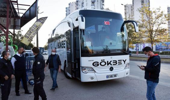 Otobüste DEAŞ'lı ihbarı polisi alarma geçirdi