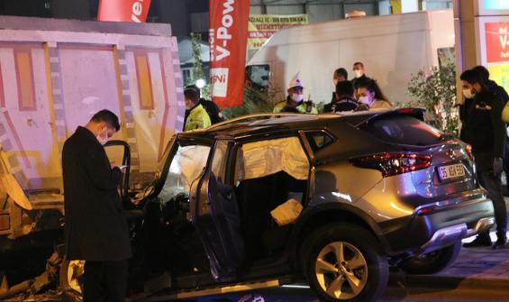Feci kazada polis memuru hayatını kaybetti