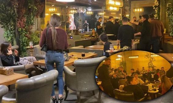 Karantinadan okey masasına! İstanbul'da şoke eden manzara