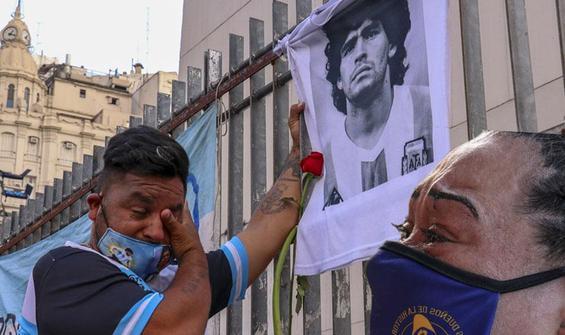 Arjantin ve İtalya'da gözyaşları sel oldu