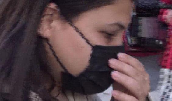 Maskesiz kadın: Allah beni koruyor