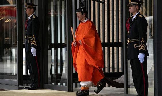 Japon İmparator halkı yine selamlayamadı