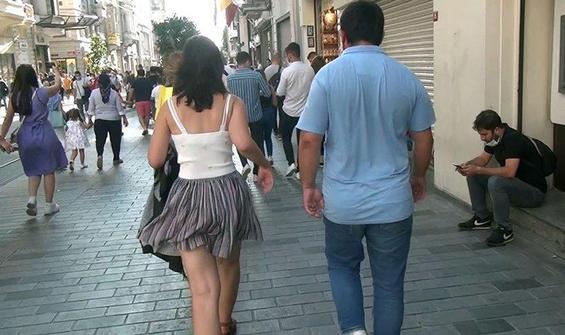 Taksim'de genç kadını adım adım takip etmişti! Karar verildi