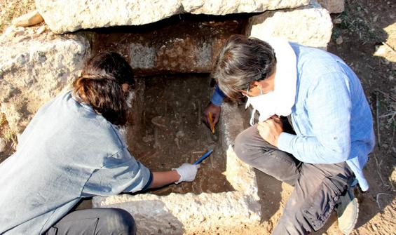 Arkeolojik kazıda ilginç keşif