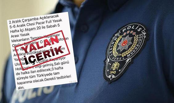 """Emniyet'ten vatandaşlara """"Genelge"""" uyarısı"""