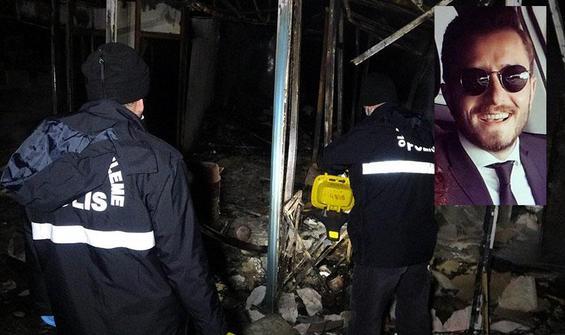 Galip Öztürk'ün yeğeninin yazlık evinde yangın