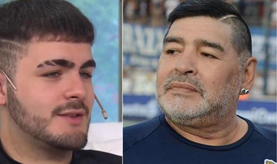 Maradona'nun oğlu olduğunu iddia etti