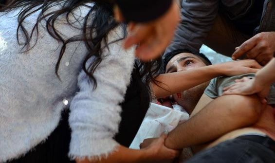 Adana'da dehşet anları! İki kardeş yaralandı