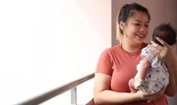 Koronavirüs antikorlarına sahip bebek doğdu