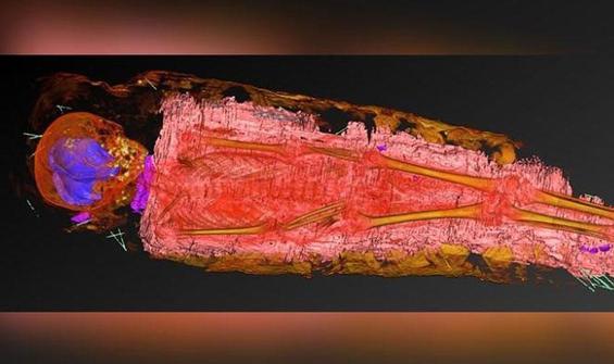 Mumyayı X ışınıyla tarayan bilim insanlarını şaşırtan keşif
