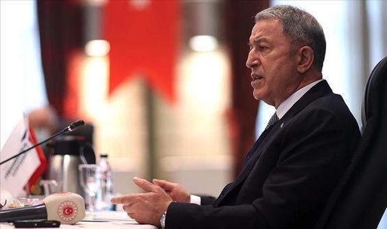 Bakan Akar: Yunanistan yanlış yapıyor