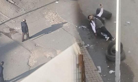 Oğlunu sokak ortasında pompalı ile vurdu!