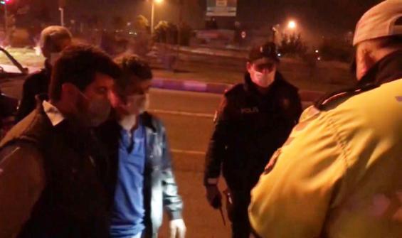 Polisleri çileden çıkardı: Beni sabaha kadar dövün