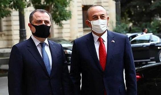 Çavuşoğlu, Azerbaycanlı mevkidaşıyla ile görüştü