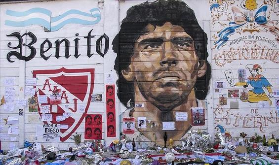 Hayranlarının gözünde Maradona