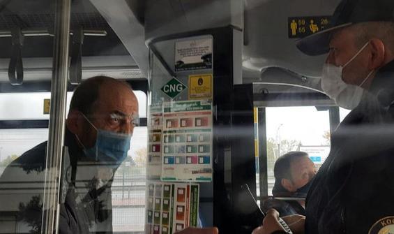 Şoför yolcuyu durakta bekletti, polis çağırdı