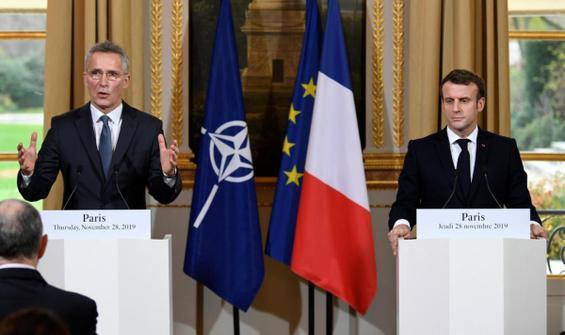 NATO Genel Sekreteri ile Macron arasında 'Akdeniz' görüşmesi