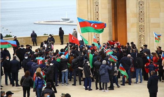 Azerbaycan'da 'Zafer Günü' 8 Kasım