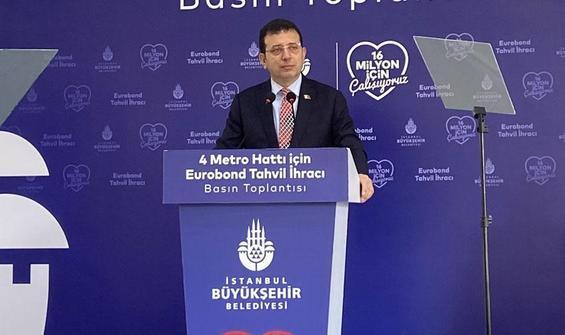 İmamoğlu'dan metro yatırımlarıyla ilgili önemli açıklama