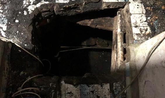 Evi kaçak maden ocağına çevirip kömür çıkartmışlar