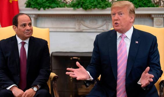 Trump ve Sisi, bölgesel meseleleri görüştü