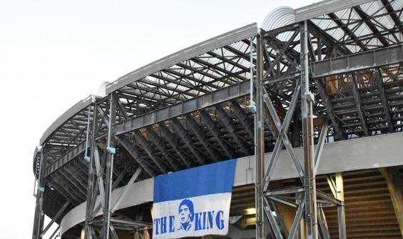 Maradona'nın ismi stada verildi