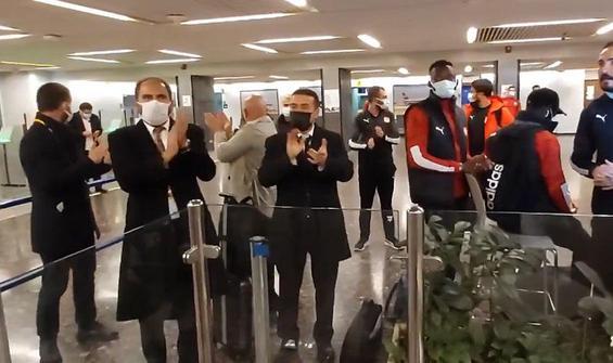 Sivasspor kafilesi, İsrail'de mahsur kaldı
