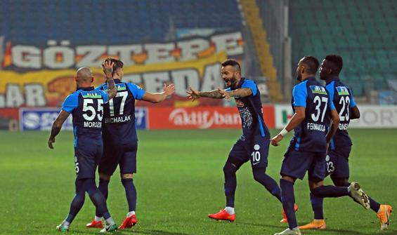 5 gollü maçta kazanan Rizespor