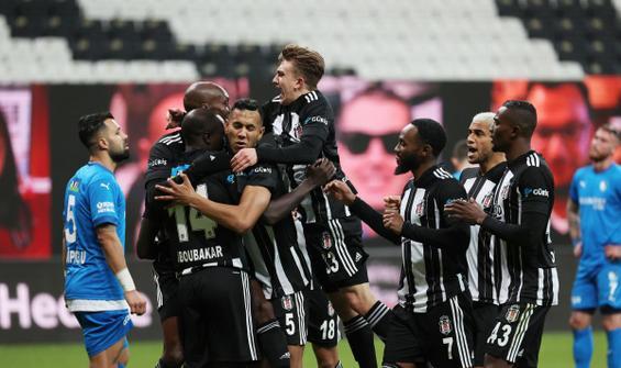 Beşiktaş, B.B. Erzurumspor engelini 4 golle aştı